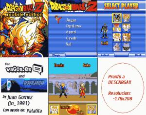Dragon Ball Z para celular