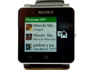 Descargar WhatsApp para SmartWatch 2