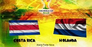 Ver Holanda vs Costa Rica en celular y Tablet